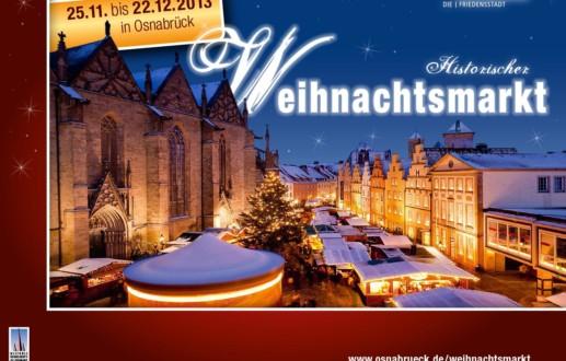 Weihnachten in Osnabrück auf dem Weihnachtsmarkt
