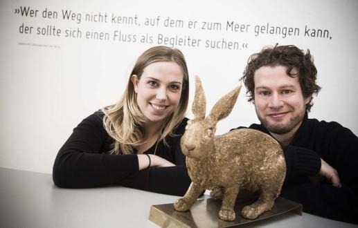 Sigurd Könker kommt nach Jule Bunsmann zur Grafikdesign Agentur Hasegold nach Osnabrück