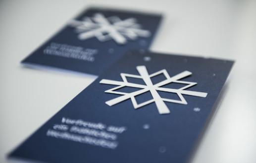 es weihnachtet sehr, die Weihnachtskarte für die IHK von Hasegold in Osnabrück