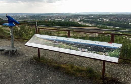 Der Piesberg mit seinem Ausblick über Osnabrück bietet sehr viel zu sehen
