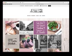 Le petit Cafe zeiht sich mit neuer Wordpress webweite
