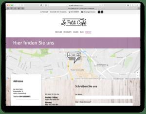 WordPress-Seite Osnabrück Kaffee