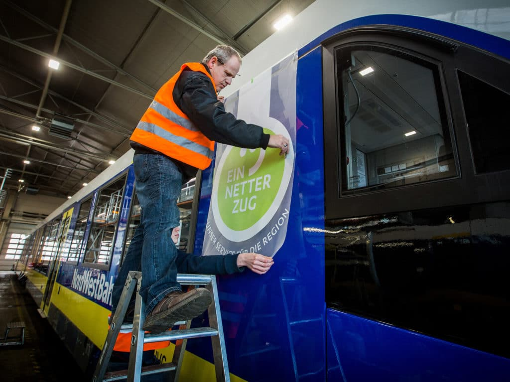 Ein netter Zug Unser Service für die Region in Osnabrück