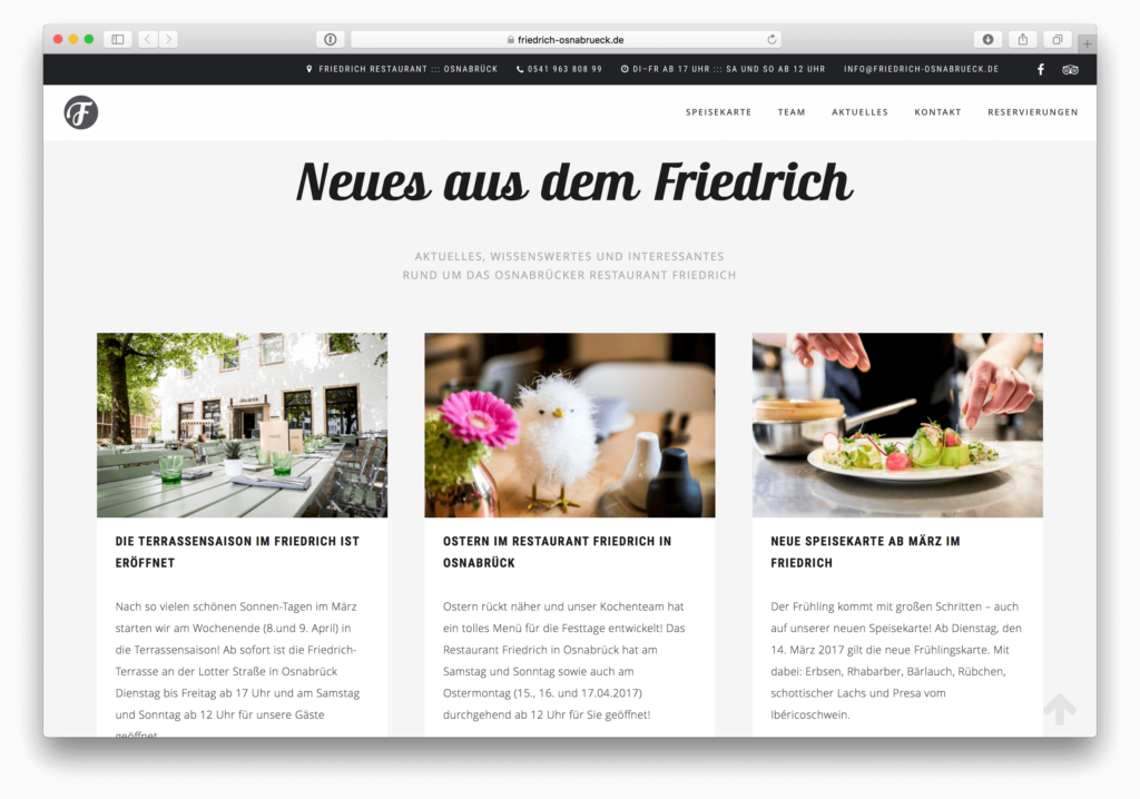 Website Friedrich 4