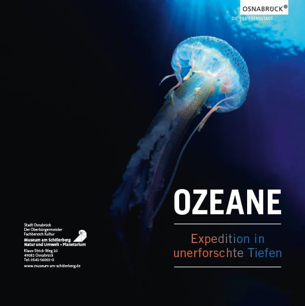 Einladung der Ausstellung Unendliche Tiefen am Schölerberg in Osnabrück