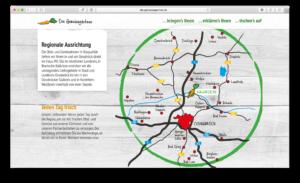 Die Gemüsegärtner umfasst ein breites Liefergebiet, dank SEO auf der Webseite von HASEGOLD