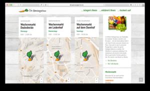 In Osnabrück gibt es einige Wochenmärkte, auf welchen die Gemüsegärtner vertreten sind. Dank SEO findet es jeder