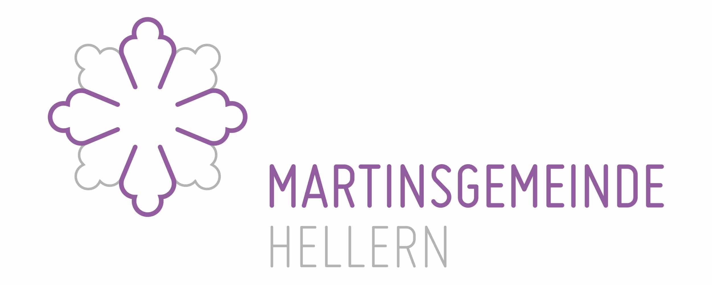 das Logo der Martinsgemeinde in Hellern von Hasegold gestaltet
