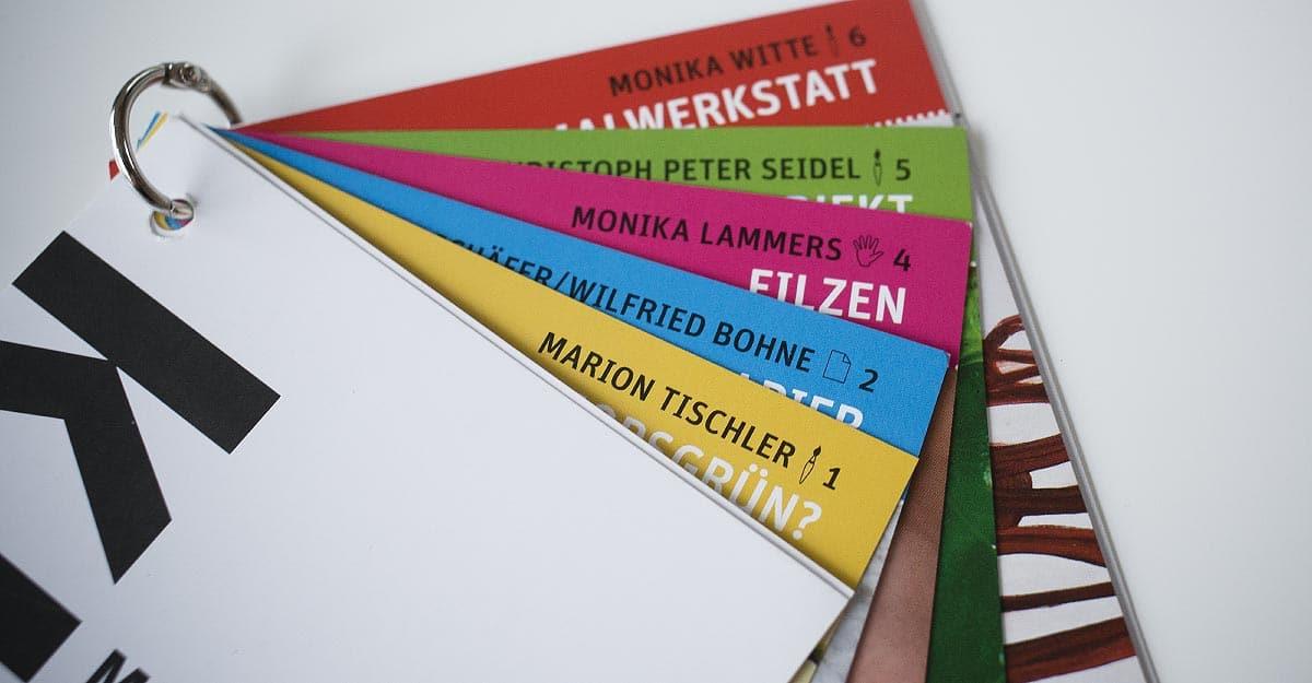 Das Programmheft der Kunst der HpH Bersenbrück