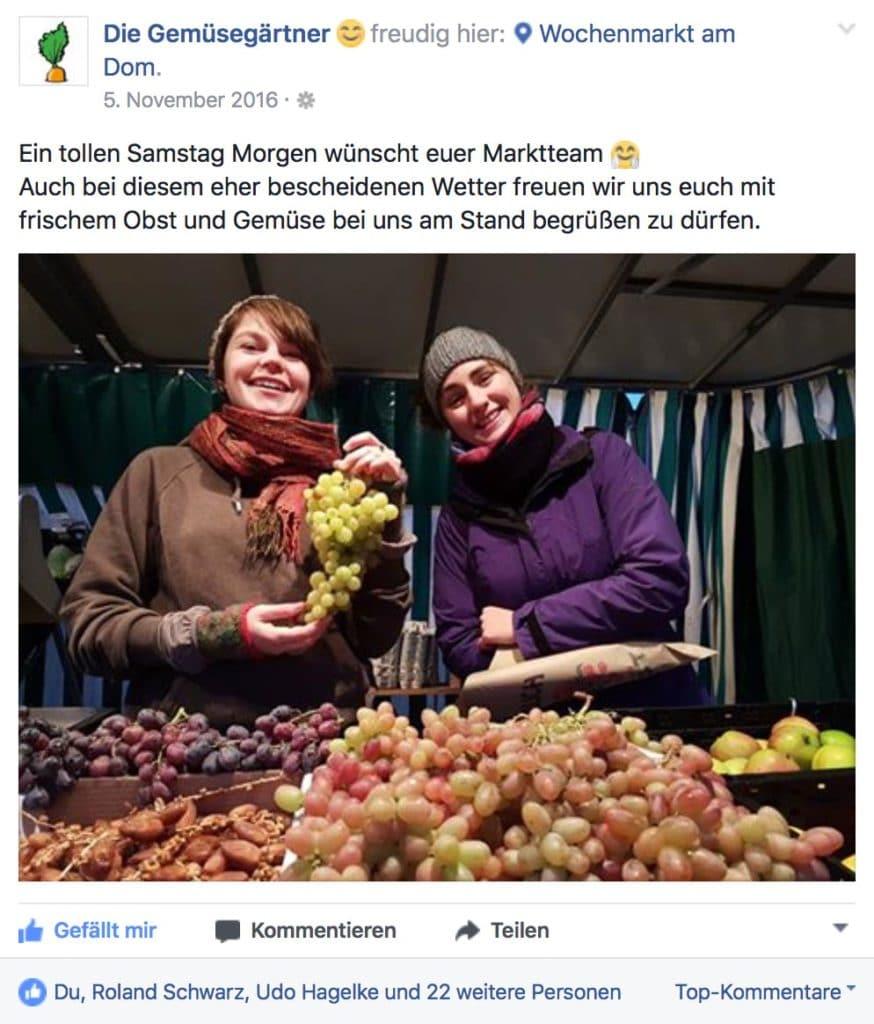 Marktbeschicker Social Media Osnabrück