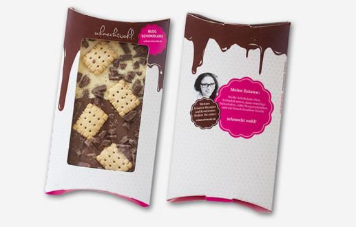 Leckere Schokolade schmecktwohl