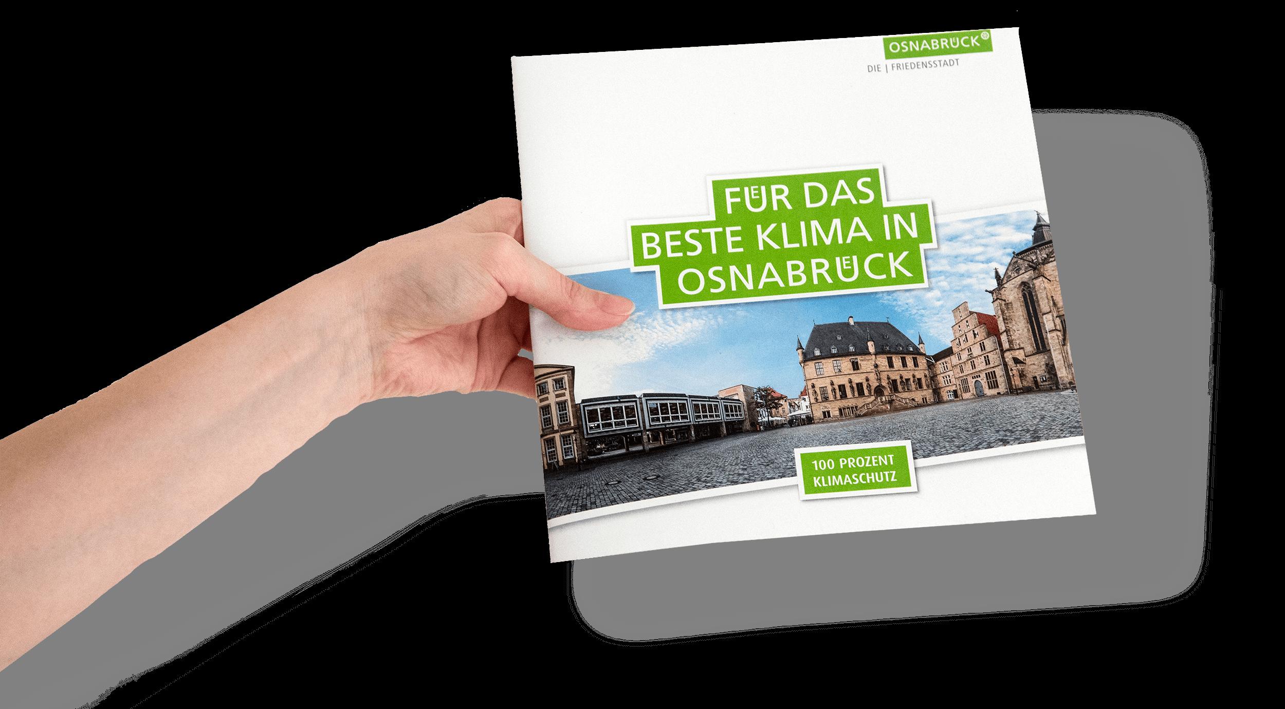 Illustrationen für Osnabrücker Broschüre zum Klimawanden