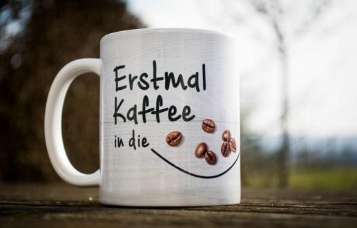 Gestaltung Kaffeebecher oder Tassendesign