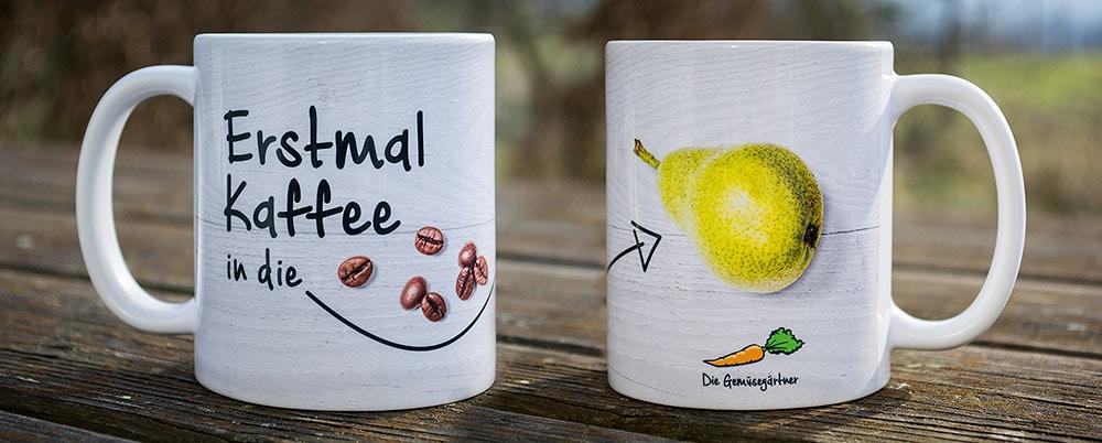Gestaltung Kaffeebecher oder Tassendesign Design Kaffeebecher