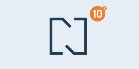Neues Logodesign zum Jubiläum