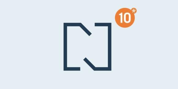 Neues Logodesign</br> zum Jubiläum