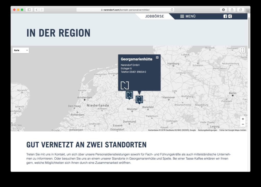WordPress Webseite mit Gestaltung und neuem Logo