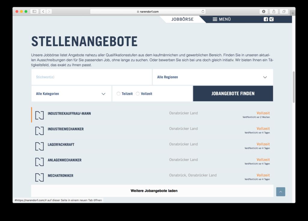 WordPress im Emsland: Narendorf nutzt WordPress