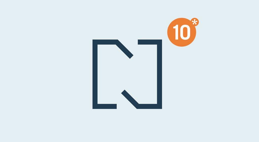 Logodesign zum 10-jährigem Jubiläum