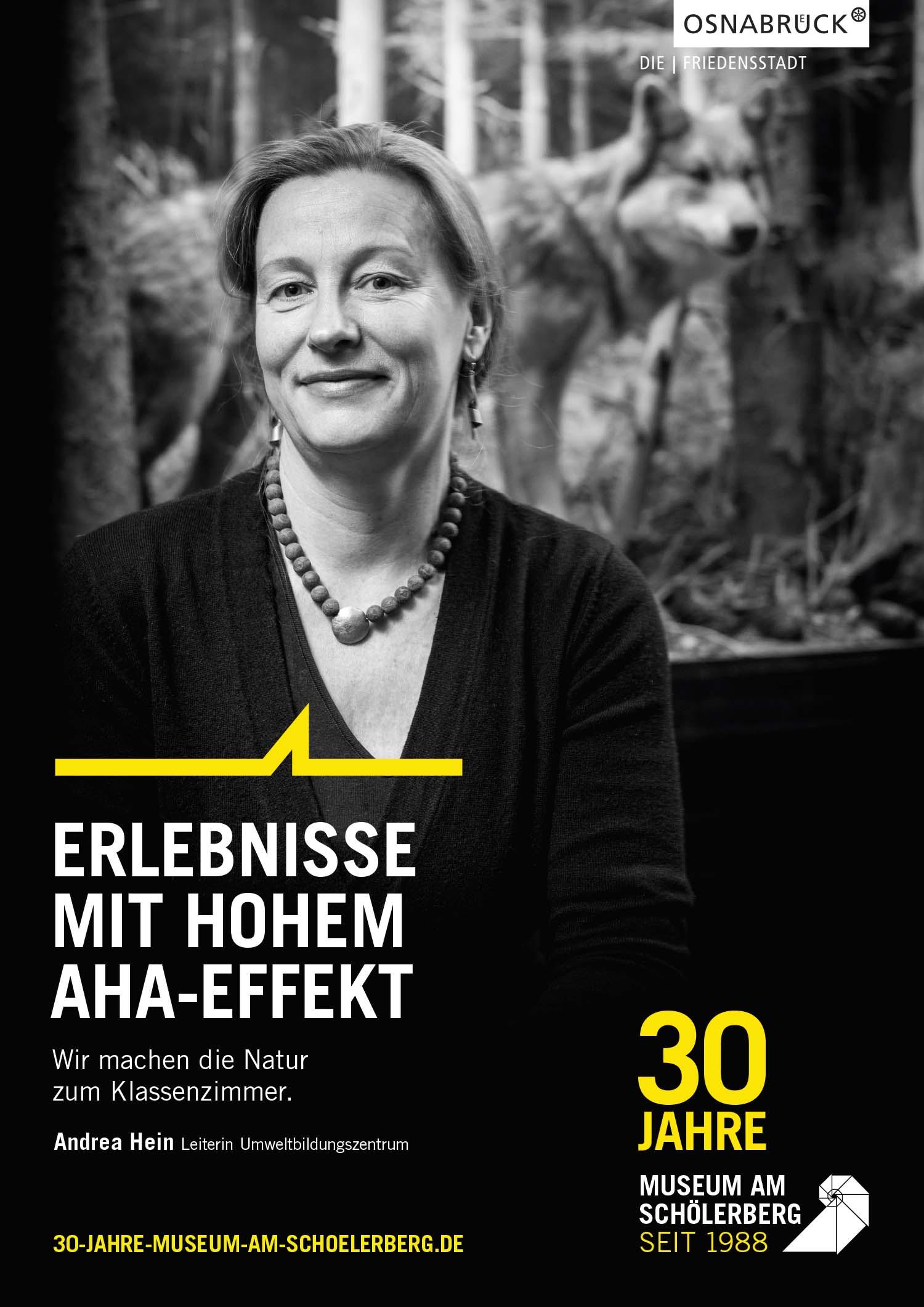 Andrea Hein vom Museum am Schölerberg. Sie leitet das Umweltbildungszentrum.