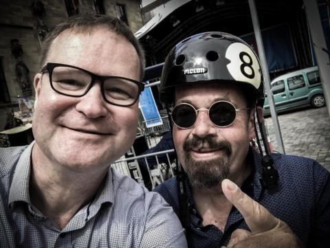 8 Ball-Fahrradhelm für Osnabrücker Blues-Legende