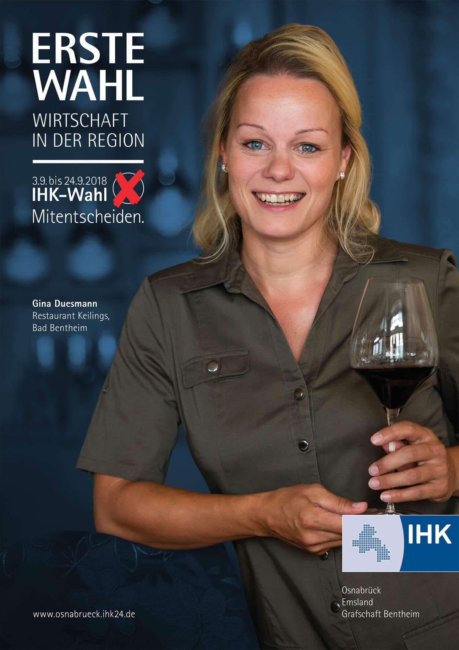 ihk vollversammlung Plakat gestaltet von der Osnabrücker Grafik-Agentur Hasegold