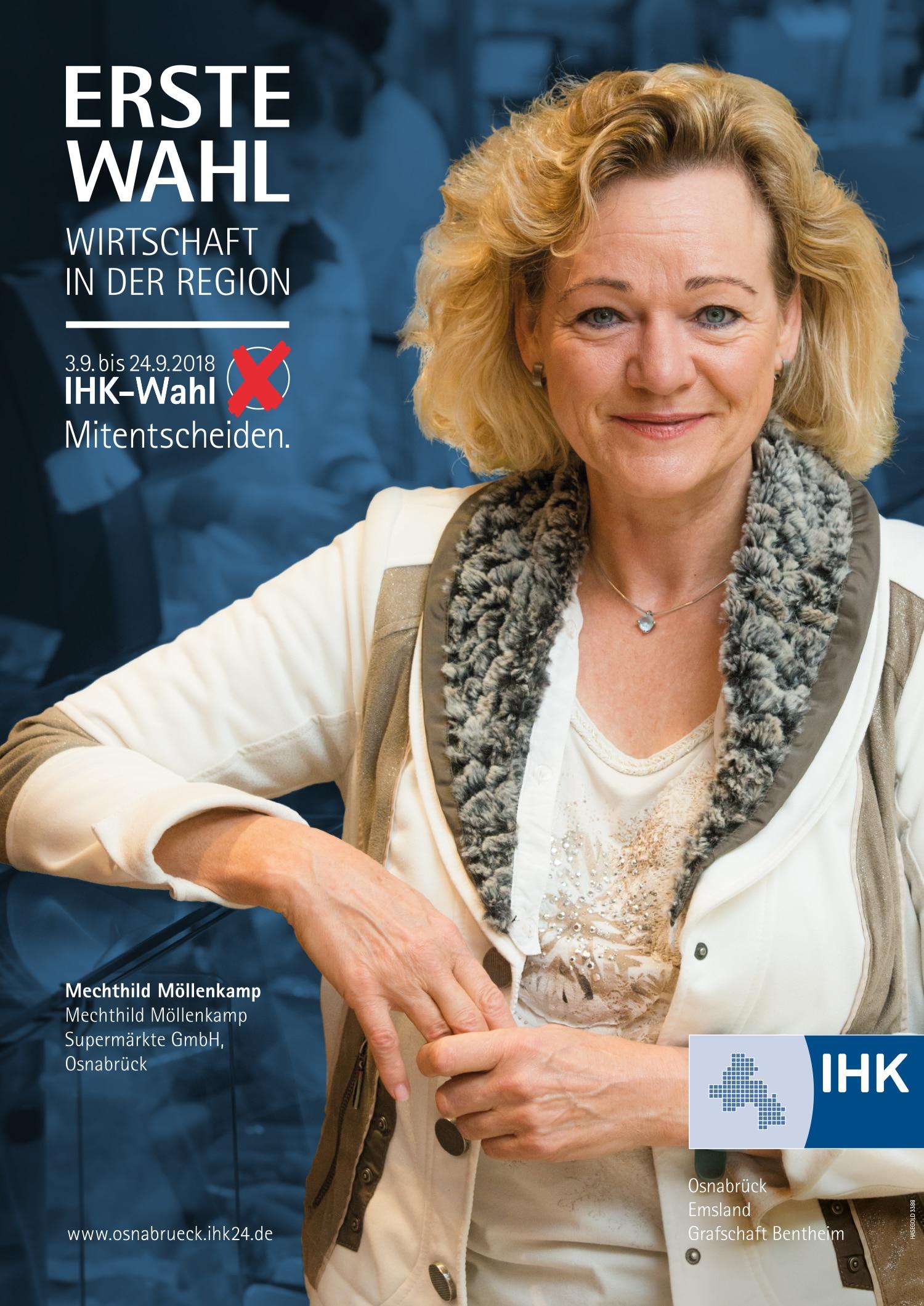 Möllenkamp Plakat für IHK Vollversammlungswahl in Osnabrück gestaltet von HASEGOLD, der Osnabrücker WordPress- und Grafik-Agentur
