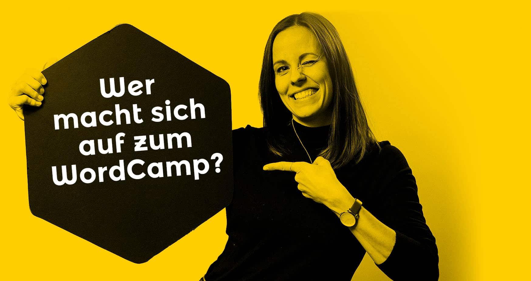 Das WordCamp Design für Osnabrück ist herausstechend