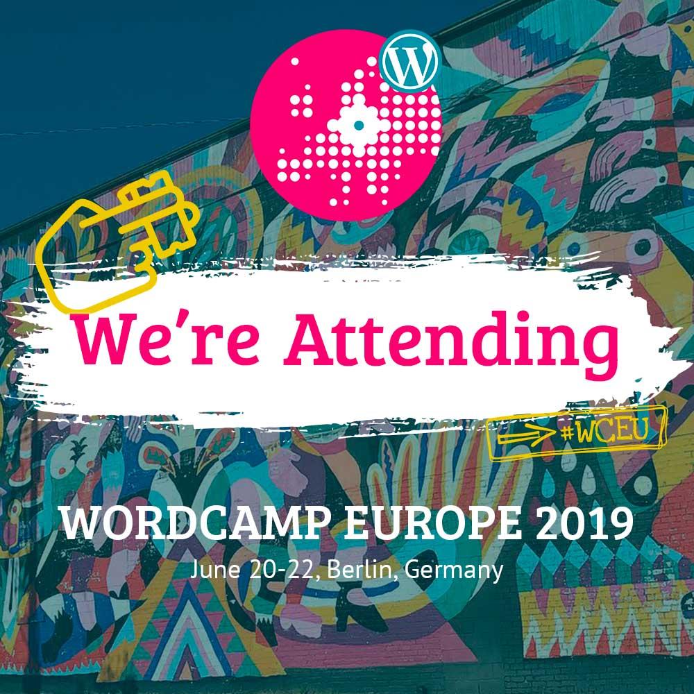 Die WordPress Agentur HASEGOLD aus Osnabrück ist in Berlin beim WordCamp Europe 2019 dabei!