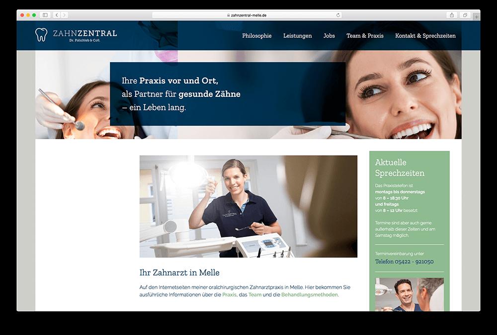 Gutes Webdesign von der Osnabrücker WordPress- und Grafikdesign-Agentur Hasegold