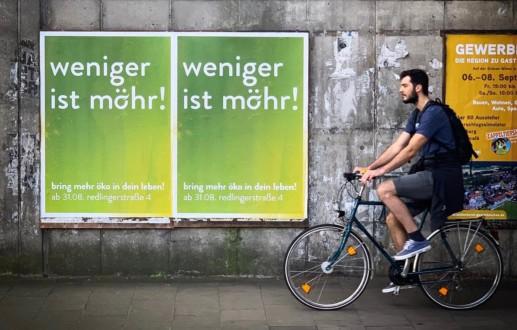 Prelanch-Kampagne mit Plaakten in Osnabrück
