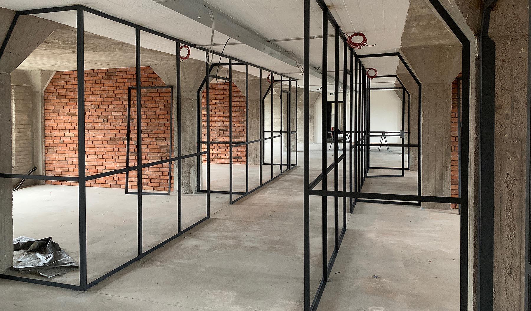Tolle Architektur im Leisen Speicher. Die Werbeagentur HASEGOLD zieht im Februar 2020 in der Osnabrücker Hafen.
