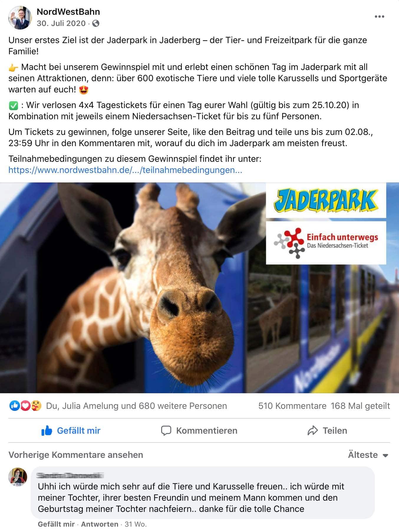 Social Media für NWB von Osnabrücker Agentur HASEGOLD