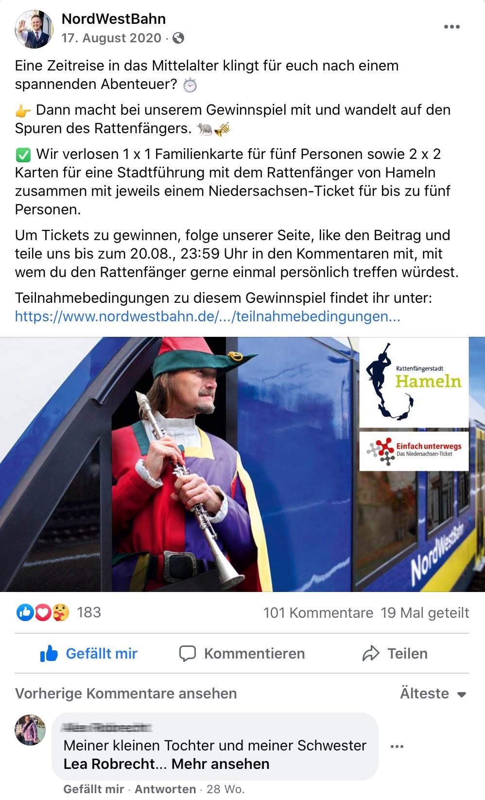 Facebook Werbung Osnabrück