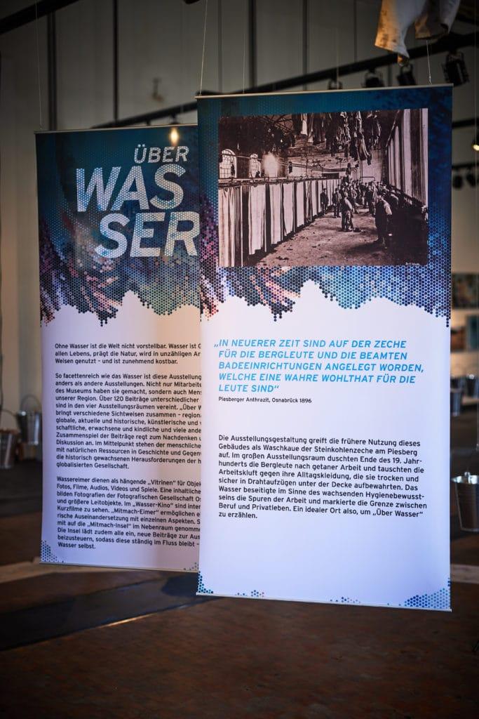 Roll-Ups im Museum Industriekultur Osnabrück