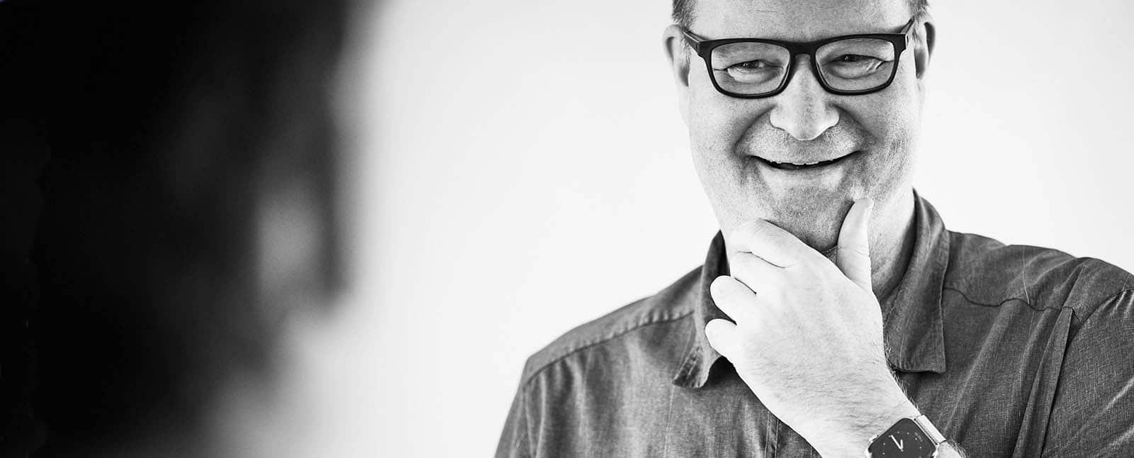 Dipom Designer Detlef Heese ist Frugalist